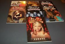 BUFFY THE VAMPIRE SLAYER TPB BY DARK HORSE LOT OF 7 IN FN OR BETTER