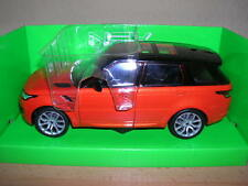 Welly Range Rover Sport rot red, 1:24 Artikel 24059W