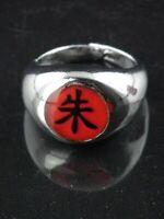 Naruto Uchiha Itachi Shu Cosplay Metal Ring