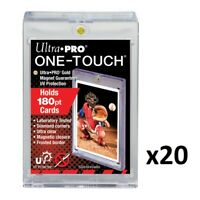 20 x Ultra PRO One-Touch 180pt Magnetic Card Protector Display Holder UV