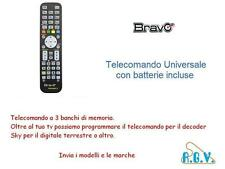 TELECOMANDO TV COMPATIBILE UNIVERSALE PER TV DECODER TELEVISORE TOPFIELD OKEY3
