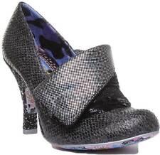 Irregular Choice Flick Flack para mujeres Zapatos Tacón sintético en negro