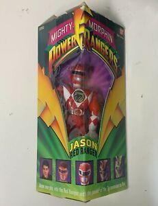Bandai Mighty Morphin Power Rangers Jason Red Ranger in Box