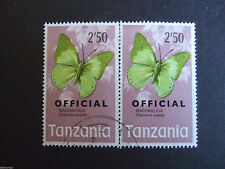Butterflies Used African Stamps