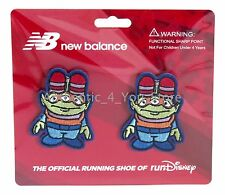 NEW Run Disney New Balance TOY STORY ALIENS Little Green Men Running Shoe Clips