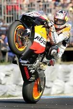 Nicky hayden repsol honda roulettes photo-moto gp.
