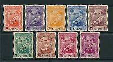 St. Thomas - S. Tome 1939 Air mail SG 362-70 MM