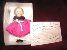 """Rare Madame Alexander 2005 MADC Wendy Attends the Ballet 8"""" Doll"""