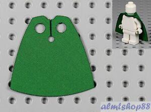 Classic Green Cloth Cape For LEGO Minifigures - Fabric Robe Cloak Elves Hobbit