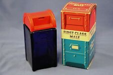 Vintage AVON USPS Post Office Mailbox Collection Box Decanter