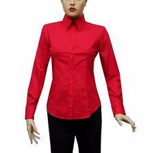 Slim-fit Damen Bluse Gr.XL Rot