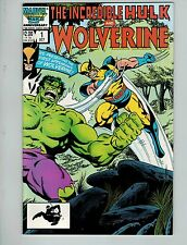 The Incredible Hulk and Wolverine #!! Reprints #181! VF8.5+! Copper Marvel!