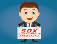 50 High Authority Follow indexing Backlinks High DA 80+ Websites + Report