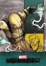 2012 MARVEL BEGINNINGS II 2 ERROR MISCUT CARD #270 GHOST