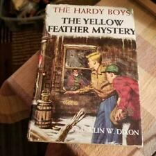 1953 The Hardy Boys The Yellow Feather Mystery Hardcover w/Jacket