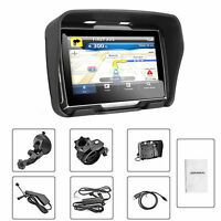 "4.3"" Touchscreen waterproof Motorcycle GPS Navigation NAV Bluetooth Connect 8GB"