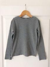 T-shirt Petit Bateau gris - Taille 10 ans