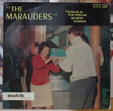 """THE MARAUDERS"" TEQUILA JUKE BOX COVER FRENCH EP MATCH RECORDS"