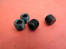 1932-48 Ford gas tank drain plugs lot of 4 (uses allen wrench) No Reserve