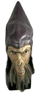 Vintage 2001 Planet Of The Apes Thade Rubber Adult Halloween Mask