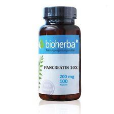 Pankreatin 10 X Enzyme, BioHerba, 100 Kapseln, 200mg