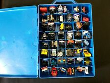 48 car Hot Wheels #1 Carry Case filled with 48 Hot Wheels cars (1999-2002)