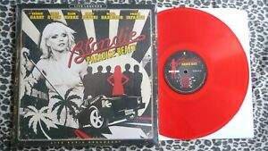 BLONDIE - Paradise Beats LP, Red vinyl,Live 1978 New.Punk,Ramones,Sex Pistols
