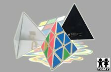 Vintage 1981 Tomy Pyraminx Triangle Pyramid Game In The Case Rubik's type