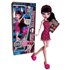 Monster High Dead Tired Draculaura Doll new in retail box Pajama Party 2012