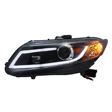 For Honda Civic 2012-2015 Assembly Headlight High+Dipped Beam HID Black Cover
