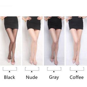 Plus Size Black/Nude/Coffee Seamless Pantyhose Stirrup Stockings Ankle Stockings