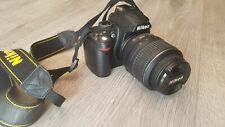 Nikon D D3000 10.2MP Digital SLR Camera - Black (w/ 18-55mm Lens & Charger)