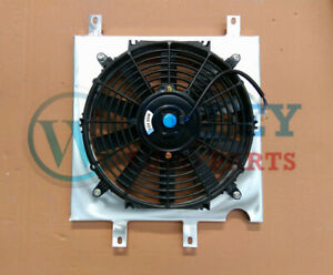 Aluminum Shroud + Fan for HONDA CIVIC EG EK B16 B18 D15 D16 1992-2000