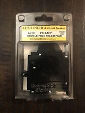 Connecticut Electric Challenger-A 20A 2-Pole 1� Circuit Breaker #Ubitba220 New!