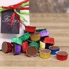 Milk Chocolate Ice Cups Gift Box Retro Sweets Traditional Candy Foiled Cups 600g