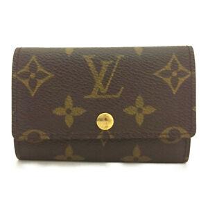 Louis Vuitton Monogram Multicles 6 Ring Key Case /F2036