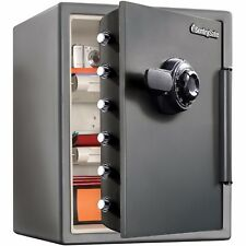 Sentry Safe Fire Security Fireproof Large Combination Water Box 2.0 Cu Ft XX