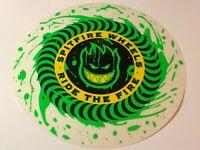 """Spitfire, Skateboard Sticker, Street Series, Large Fire Wheel, 7.5"""", #9369613"""
