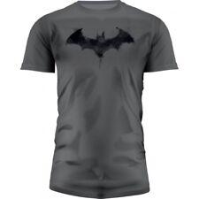 T-SHIRT DC UNIVERSE BATMAN LOGO GRAPHICS GRIS TAILLE L