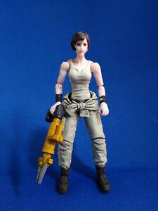 JOYTOY 1/18 Mech Maintenance Team A - Female Jaw Operator w/ shirt around waist