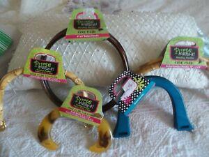 👀  DIY Crafts ~Purse n-alize-it  5  Assorted Handbag / Purse Handles ~  New