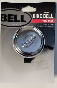 Bell Dinger 200 Chrome Bicycle Bell 71022021
