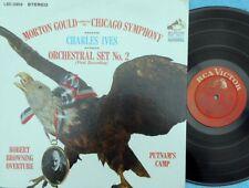 Morton Gould Chicago Symp. Charles Ives Orchestral Set No.2 US LP NM RCA LSC2959
