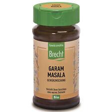 Brecht Bio Garam Masala Gewürzmischung | 40 g Glas | vegetarisch | vegan