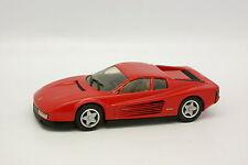 Western Models 1/43 - Ferrari Testarossa 1984 Rouge
