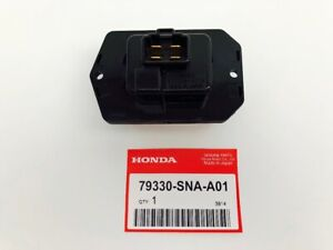 HONDA ACCORD Genuine BLOWER MOTOR FAN RESISTOR TRANSISTOR 79330-SNA-A01 F/S