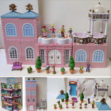Mini Polly Pocket Deluxe Mansion Dream Builders Stapelvilla Puppenhaus Dächer