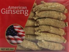 Hand Selected A Grade American Ginseng Root Large Short Size (4 Oz)