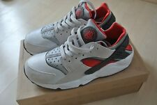 ★★2013 QS NIKE AIR HUARACHE LE 42 + NEU + GREY RED Silver 318429-002 ★★★★★★★★