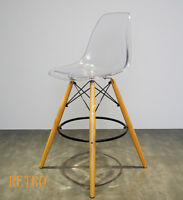 Bar stool Retro Eiffel style Kitchen-Pub-Barstool/..--